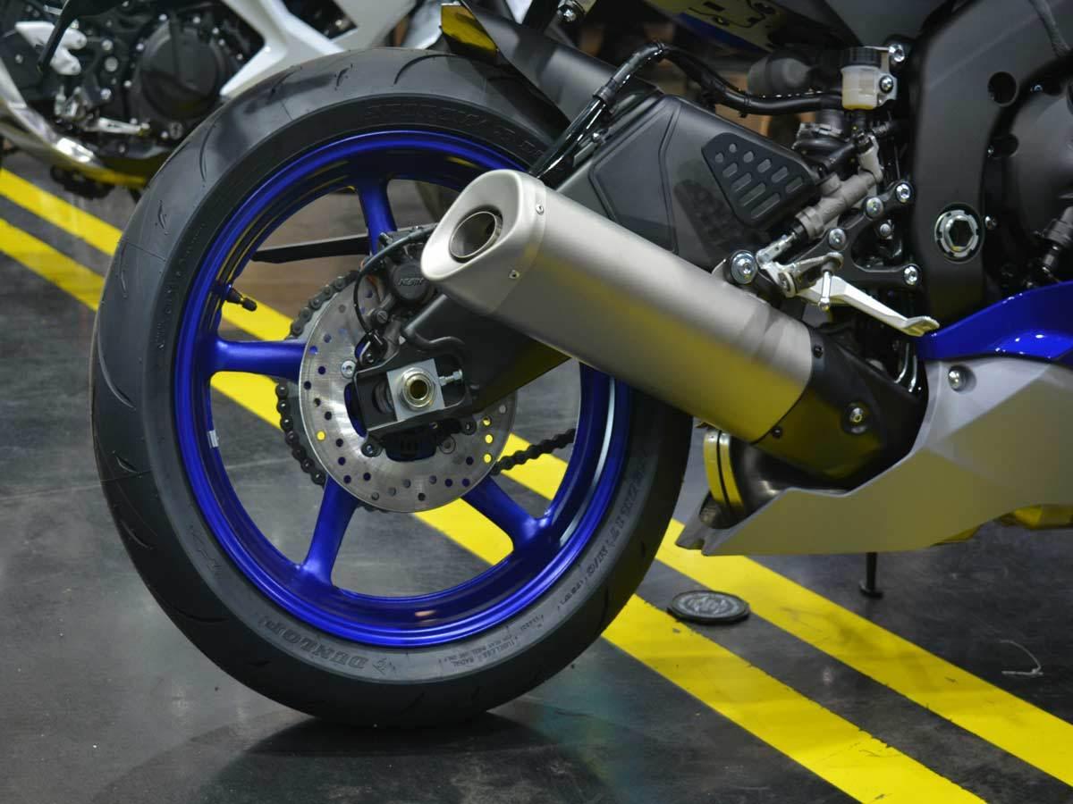 2020 Yamaha YZF-R6 12