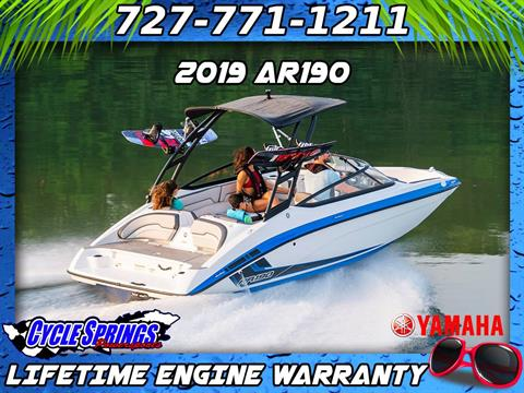2019 Yamaha AR190 in Clearwater, Florida