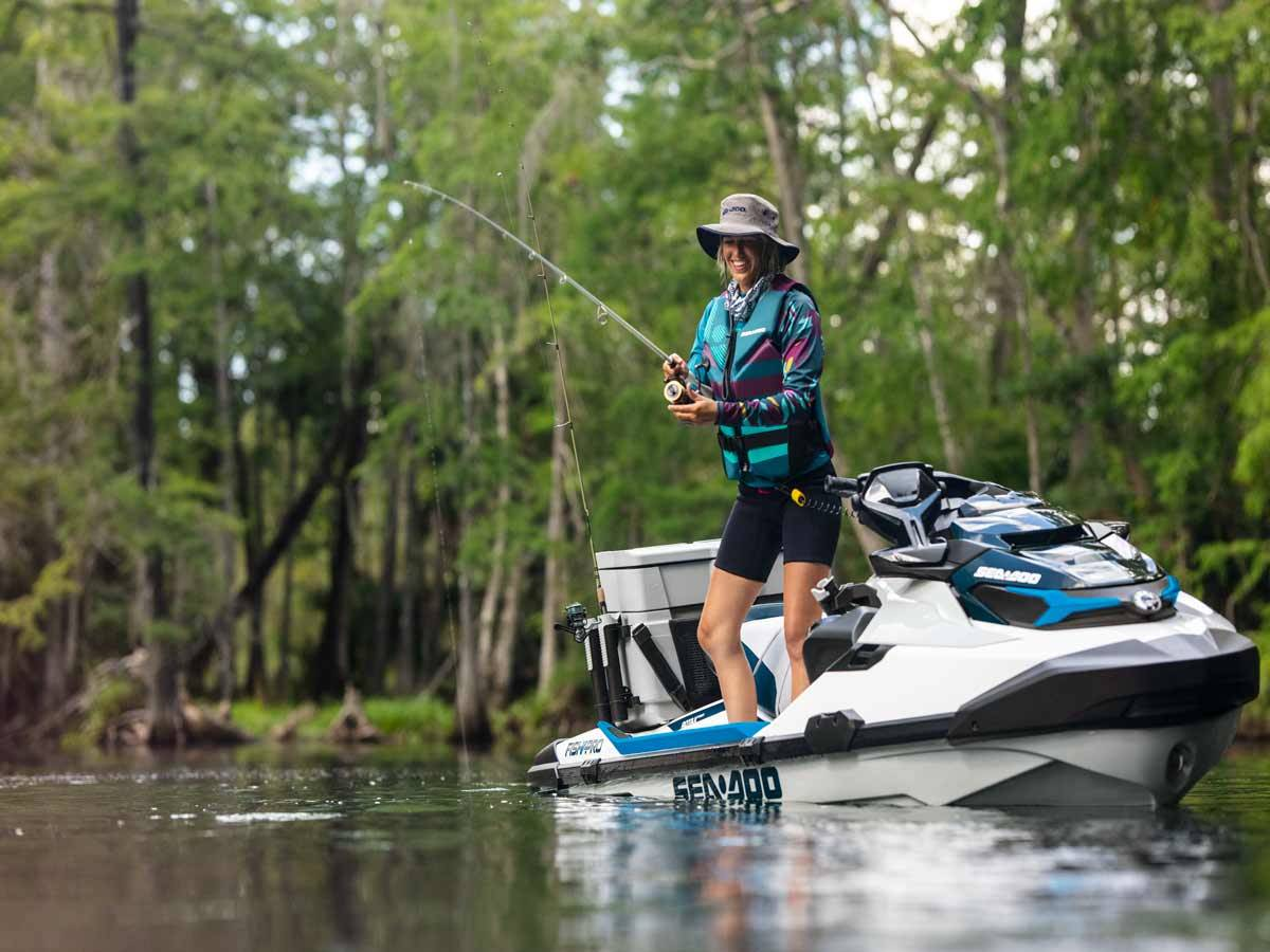 2021 Sea-Doo FISH PRO 170 in Clearwater, Florida - Photo 4