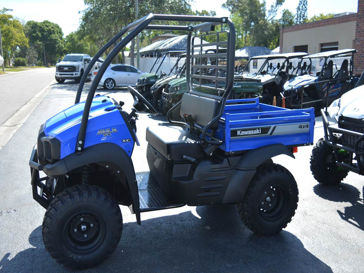2019 Kawasaki Mule SX 4X4 XC FI in Clearwater, Florida - Photo 2