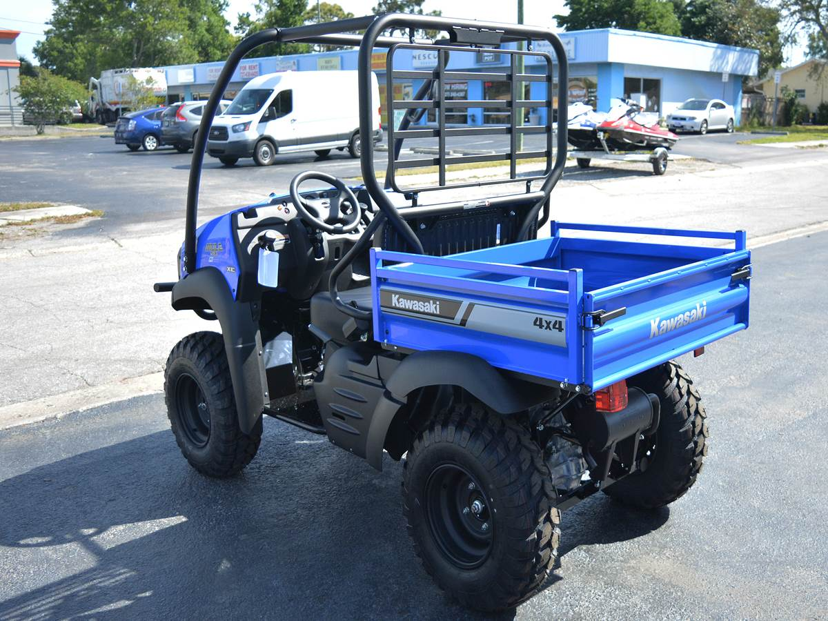 2019 Kawasaki Mule SX 4X4 XC FI in Clearwater, Florida - Photo 11