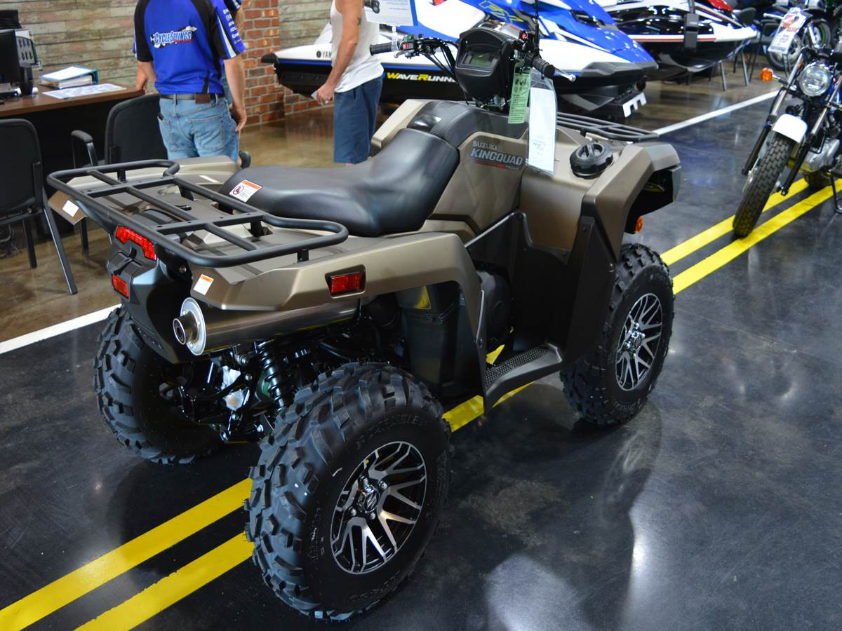 2019 Suzuki KingQuad 750AXi Power Steering SE+ in Clearwater, Florida