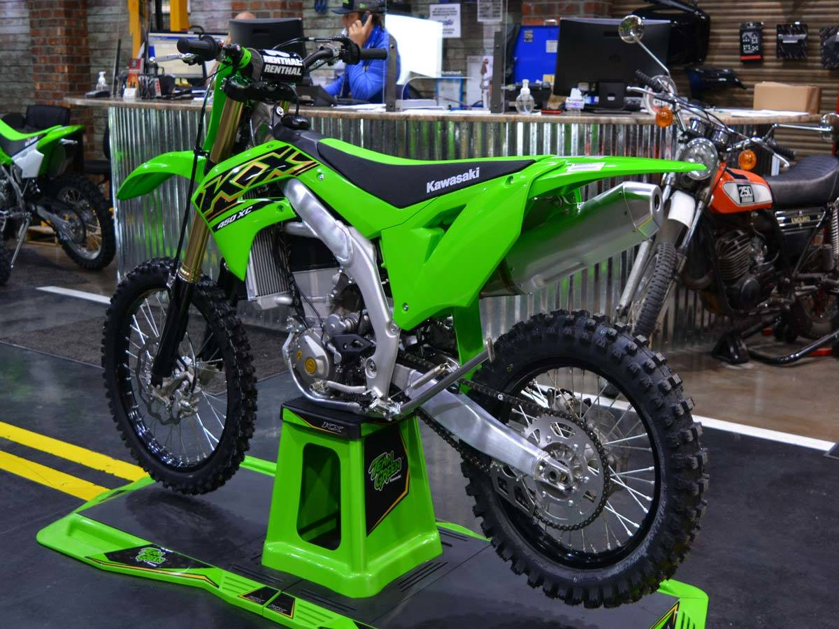 2021 Kawasaki KX 450X in Clearwater, Florida - Photo 8
