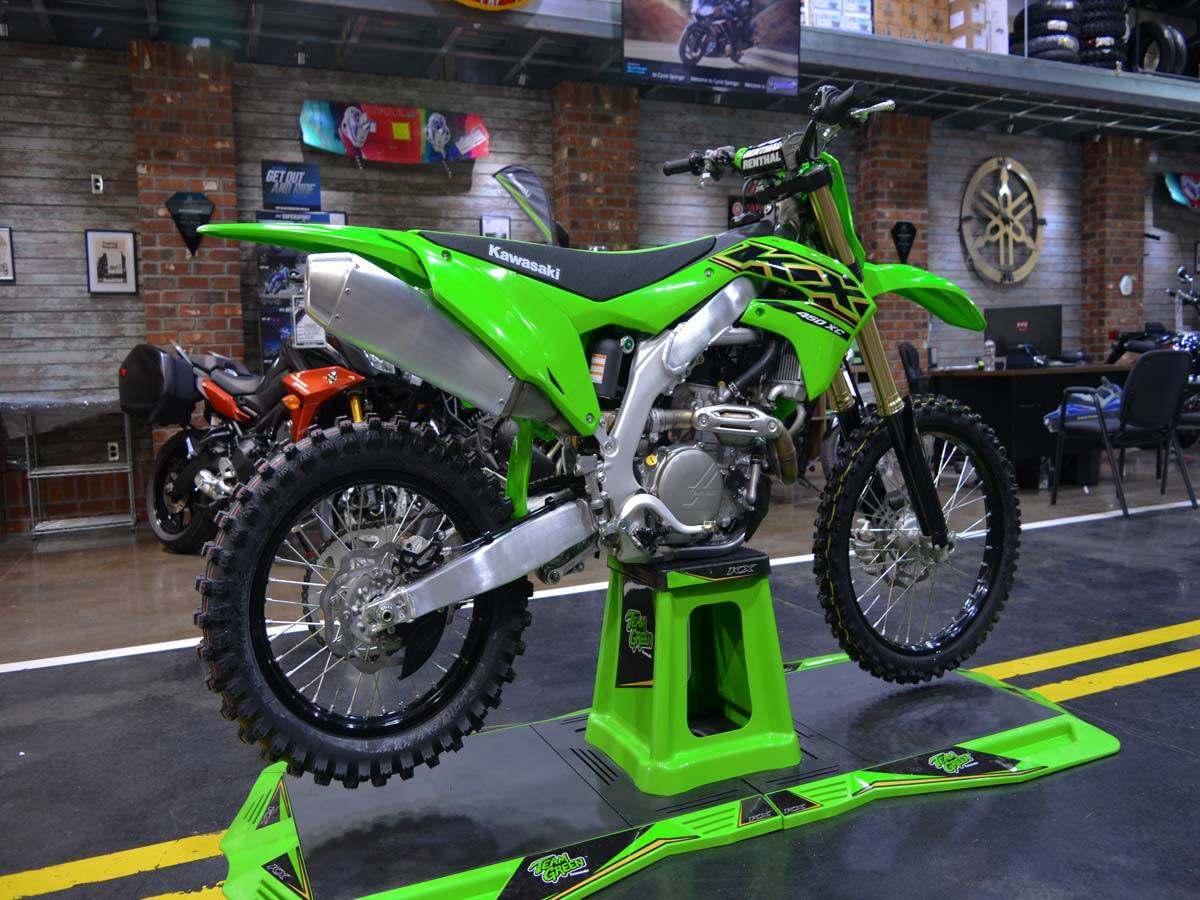 2021 Kawasaki KX 450X in Clearwater, Florida - Photo 1