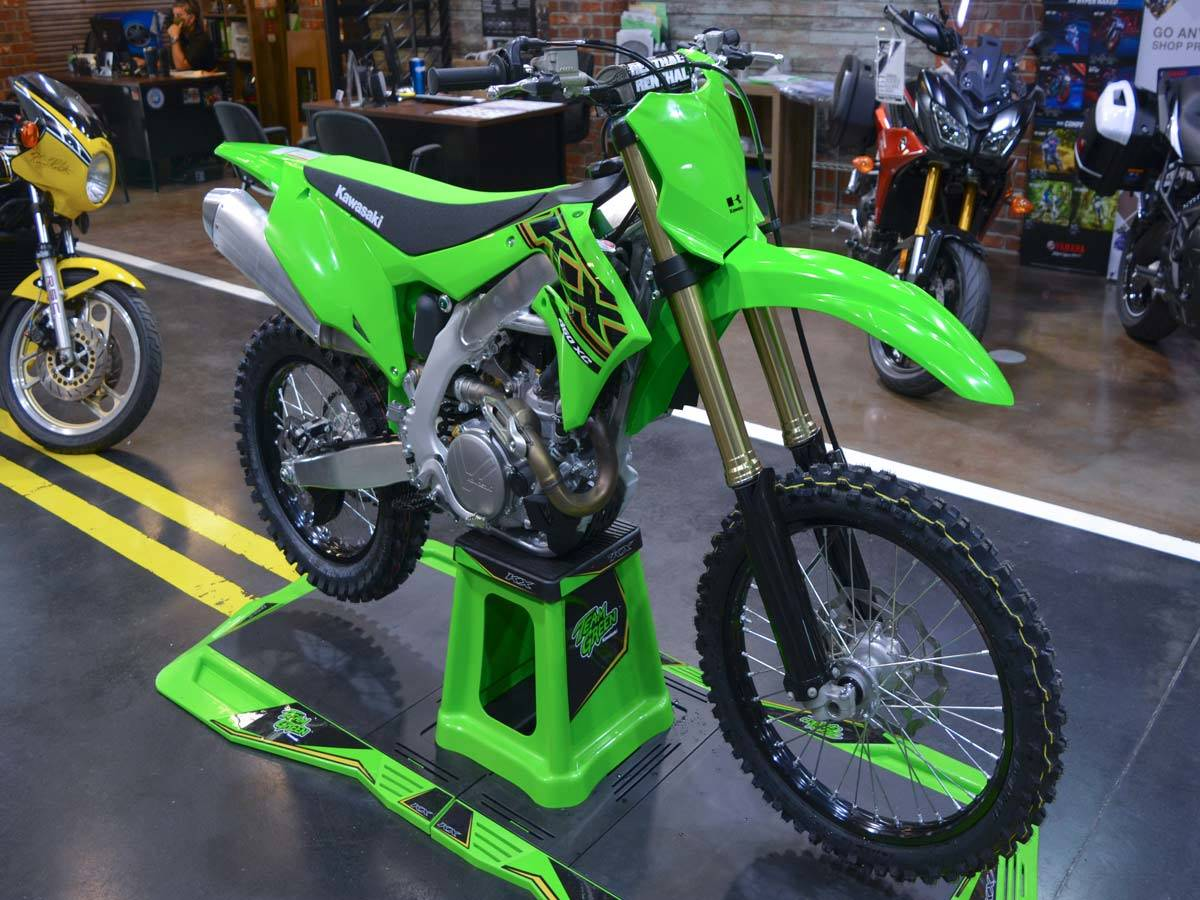 2021 Kawasaki KX 450X in Clearwater, Florida - Photo 12