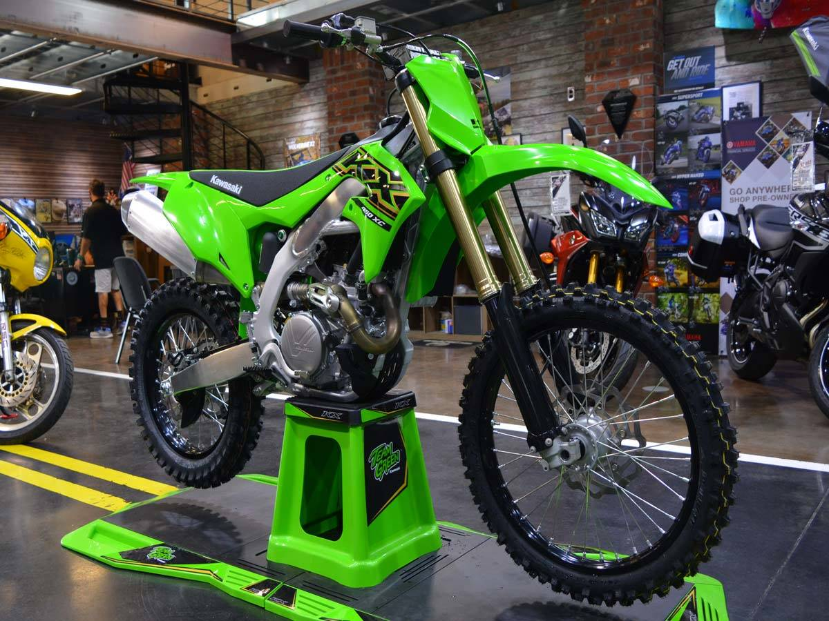 2021 Kawasaki KX 450X in Clearwater, Florida - Photo 4