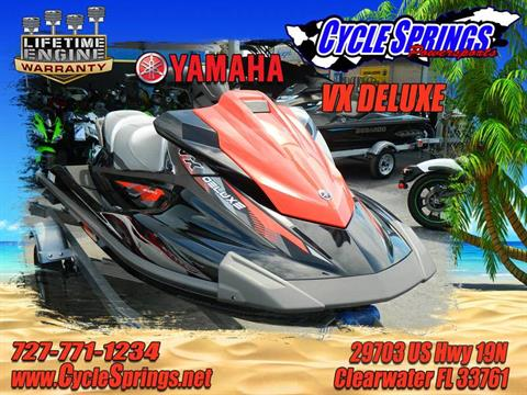 2017 Yamaha VX Deluxe in Clearwater, Florida