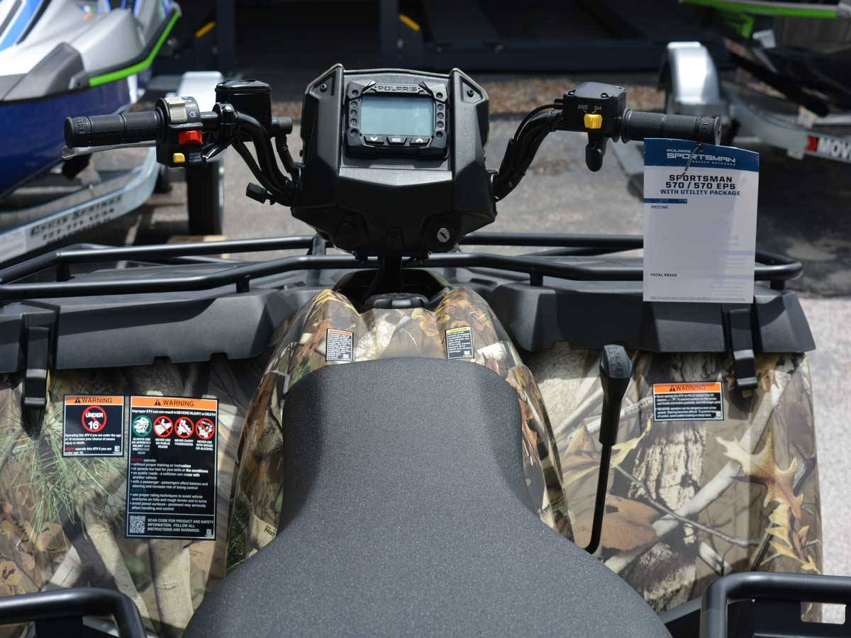 2020 Polaris Sportsman 570 EPS Utility Package in Clearwater, Florida - Photo 9