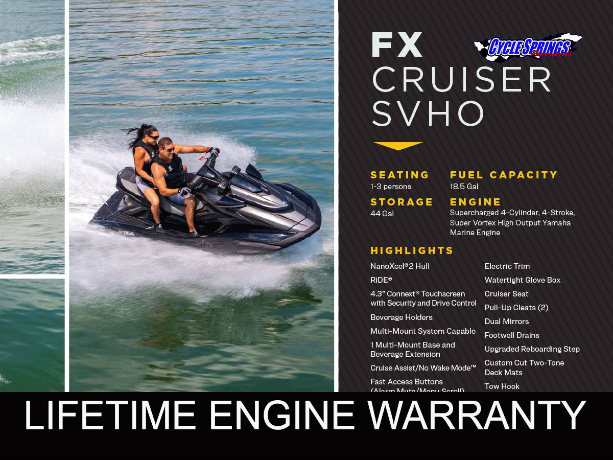 2021 Yamaha FX CRUISER SVHO in Clearwater, Florida - Photo 1