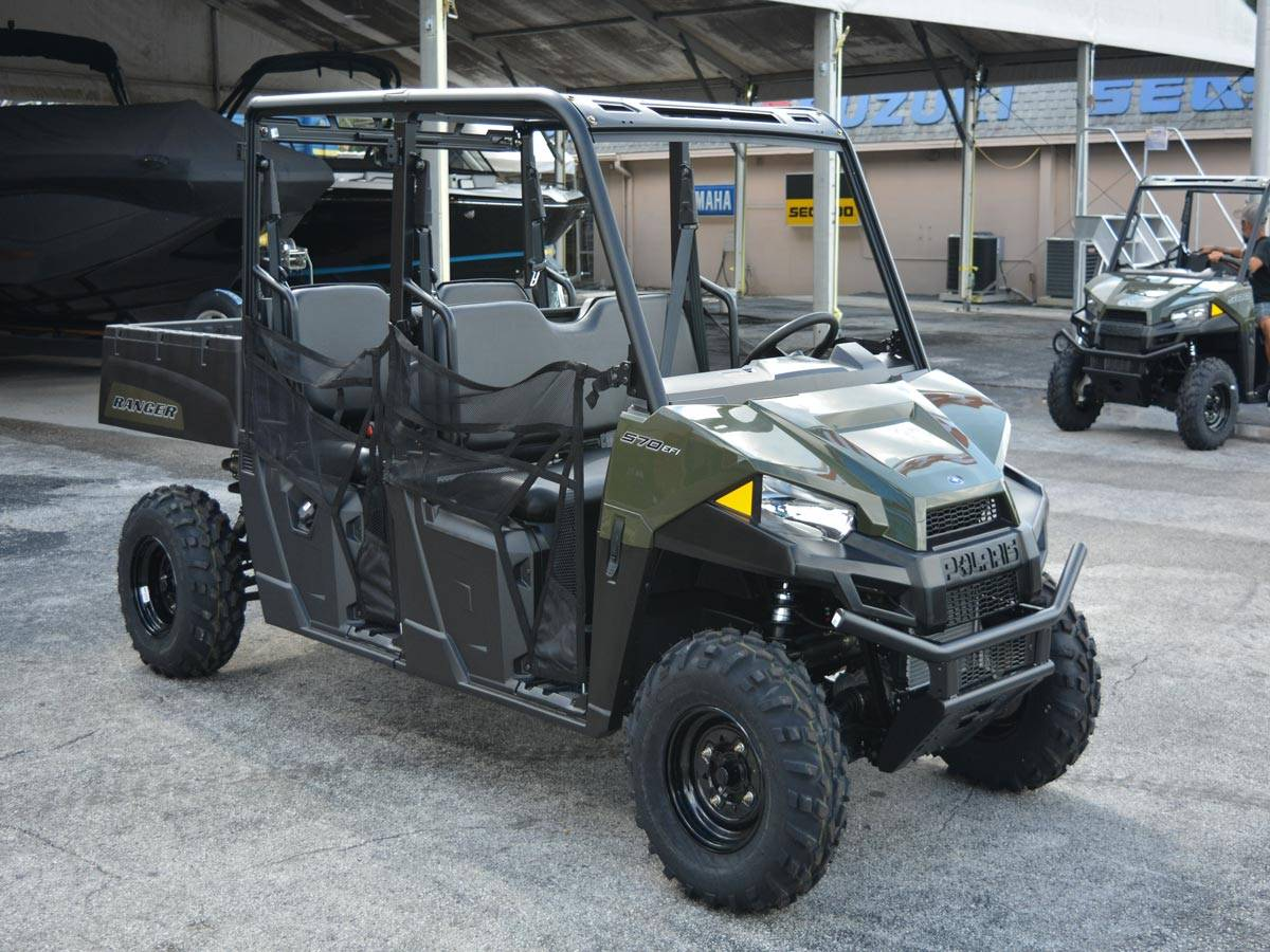 2021 Polaris Ranger Crew 570 in Clearwater, Florida - Photo 8