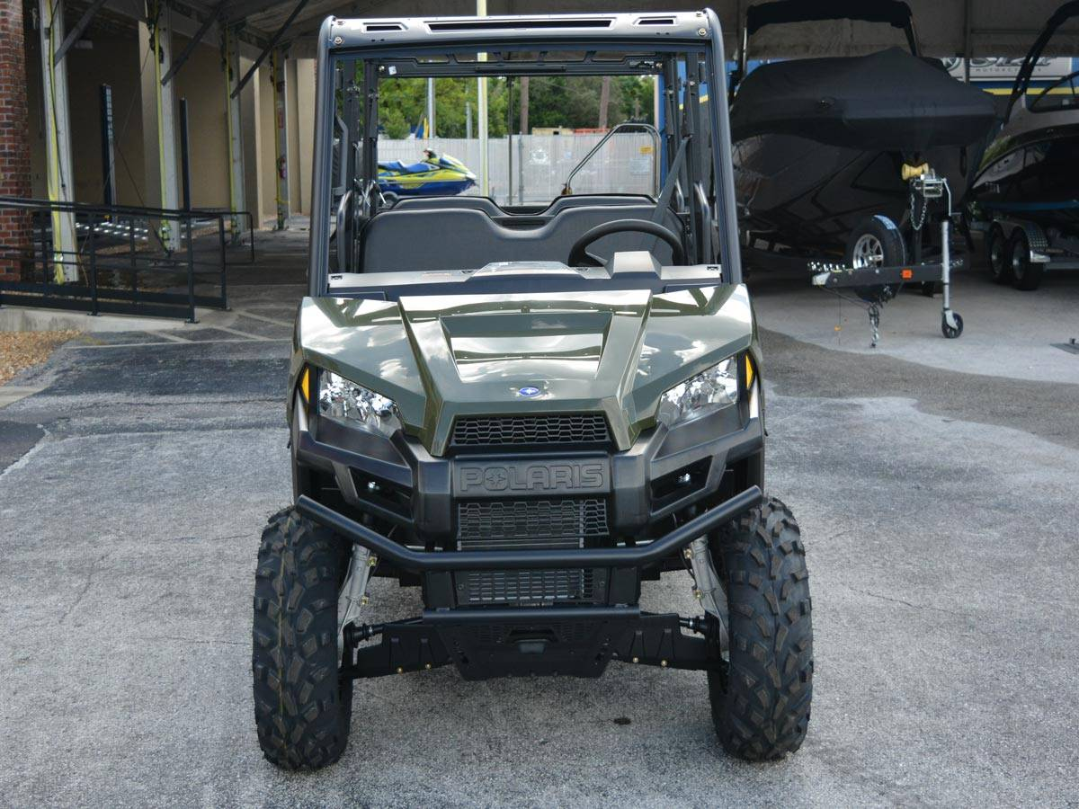 2021 Polaris Ranger Crew 570 in Clearwater, Florida - Photo 9