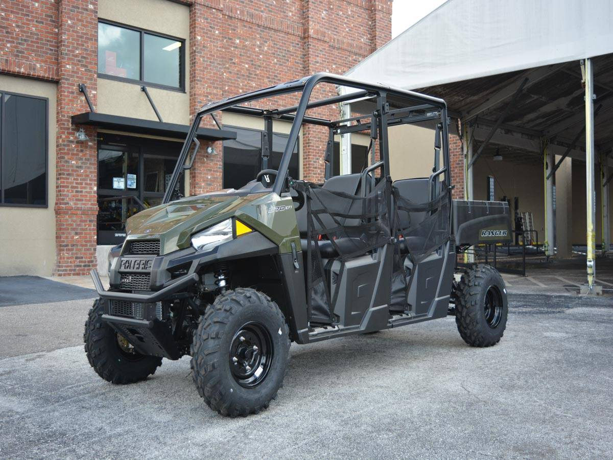 2021 Polaris Ranger Crew 570 in Clearwater, Florida - Photo 7