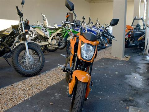 2019 Kawasaki Z125 Pro in Clearwater, Florida