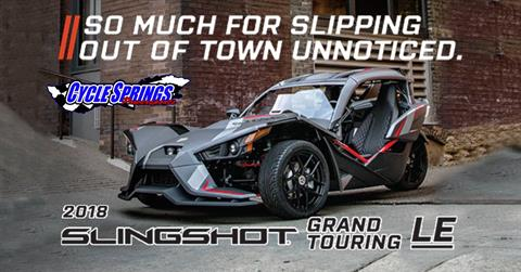 2018 Slingshot Slingshot Grand Touring LE in Clearwater, Florida