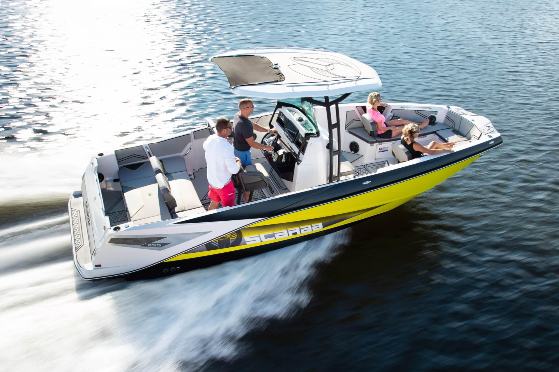 New 2019 Scarab 255 Open ID Power Boats Inboard in