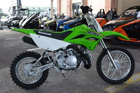 2018 Kawasaki KLX 110 in Clearwater, Florida - Photo 3