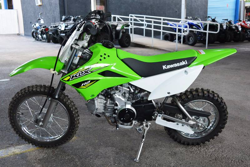 2018 Kawasaki KLX 110 in Clearwater, Florida
