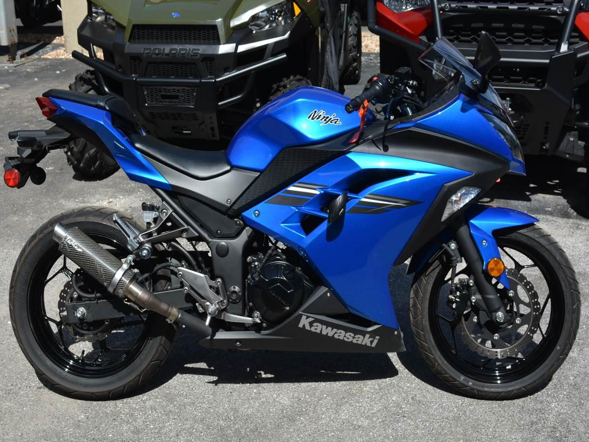 Used 2017 Kawasaki Ninja 300 Motorcycles In Clearwater Fl Stock
