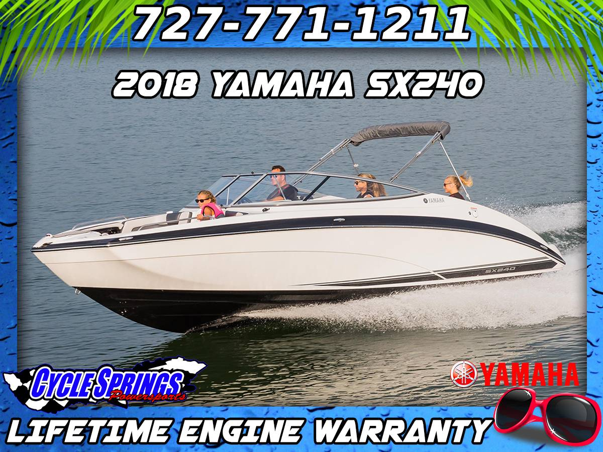 2018 Yamaha SX240 in Clearwater, Florida