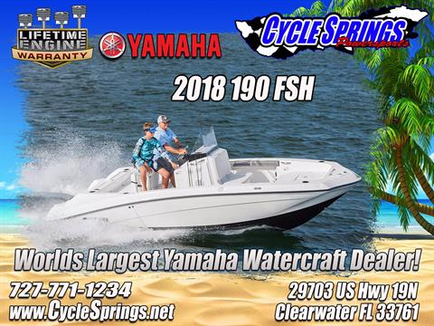 2018 Yamaha 190 FSH in Clearwater, Florida