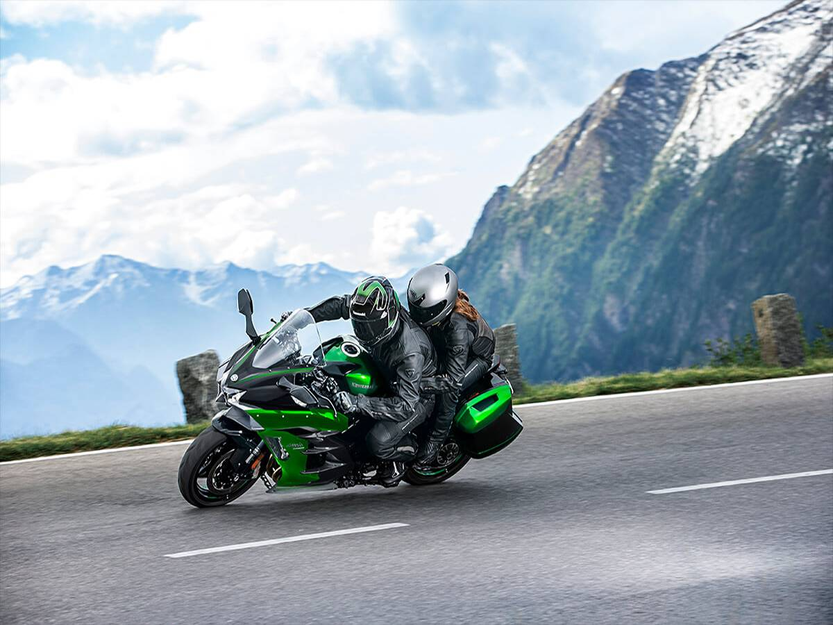 2021 Kawasaki Ninja H2 SX SE+ in Clearwater, Florida - Photo 6