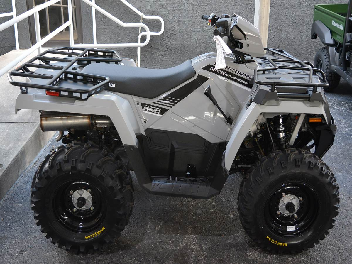 2019 Polaris Sportsman 570 EPS Utility Edition in Clearwater, Florida - Photo 1
