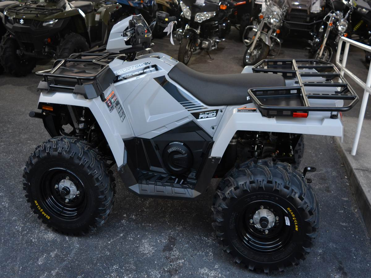 2019 Polaris Sportsman 570 EPS Utility Edition in Clearwater, Florida - Photo 2