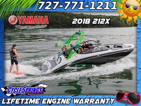 2018 Yamaha 212X in Clearwater, Florida