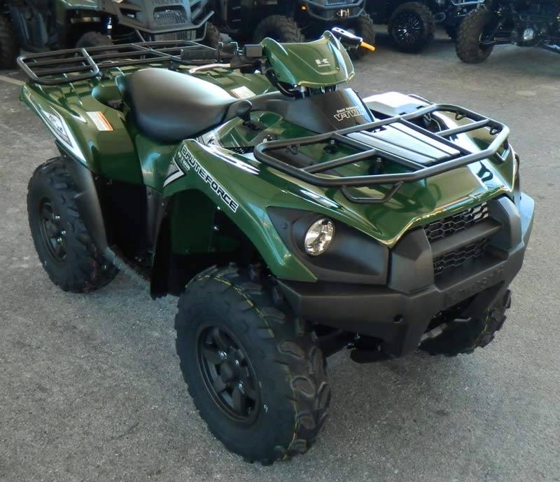 2017 Kawasaki Brute Force 750 4x4i in Clearwater, Florida