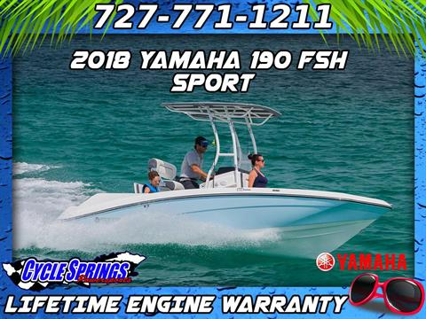 2018 Yamaha 190 FSH Sport in Clearwater, Florida