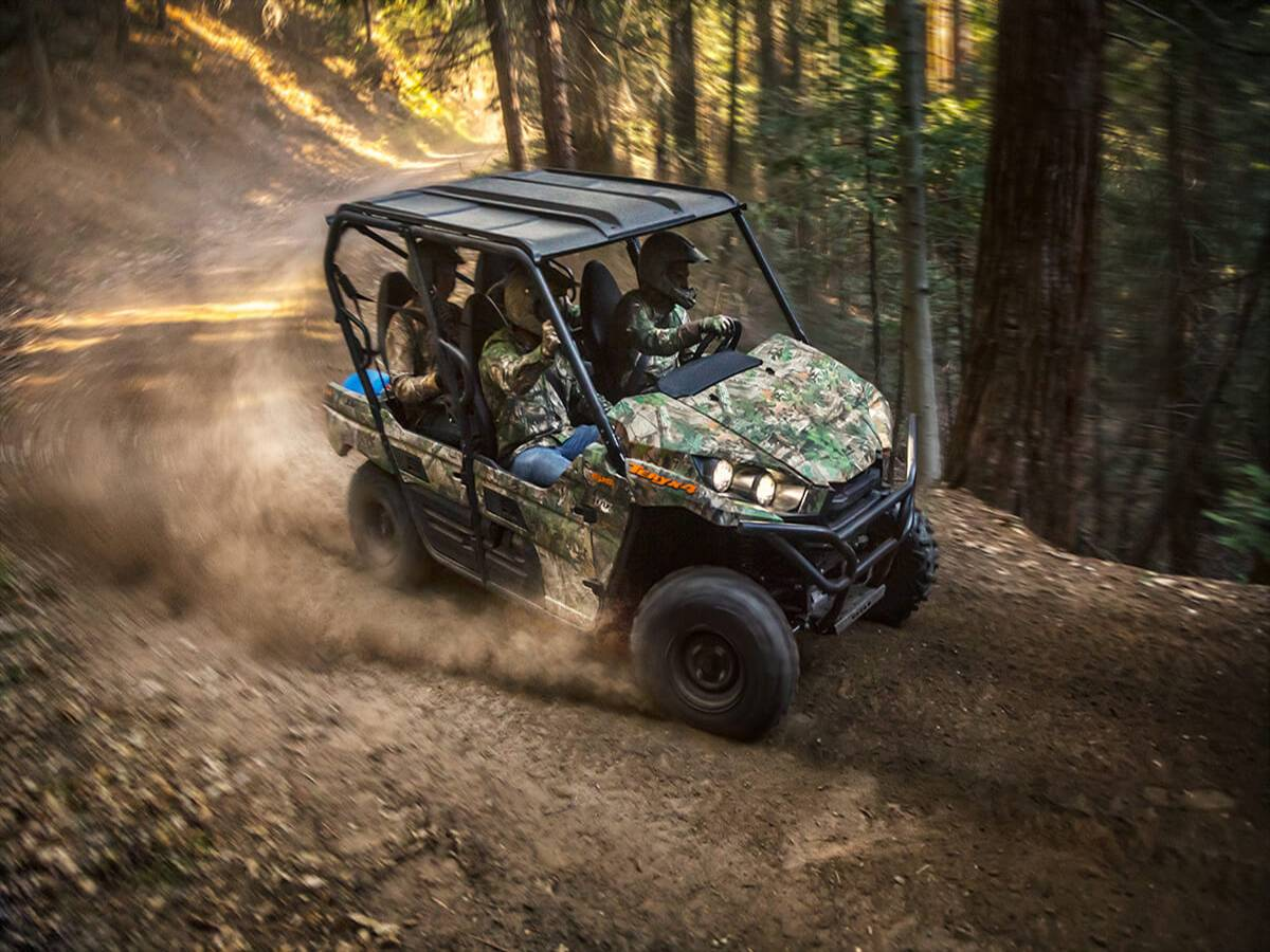 2021 Kawasaki Teryx4 Camo in Clearwater, Florida - Photo 7