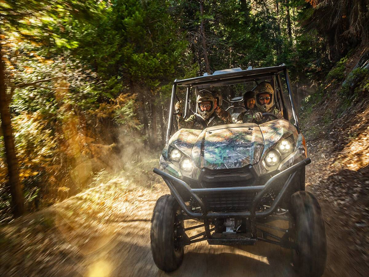 2021 Kawasaki Teryx4 Camo in Clearwater, Florida - Photo 9