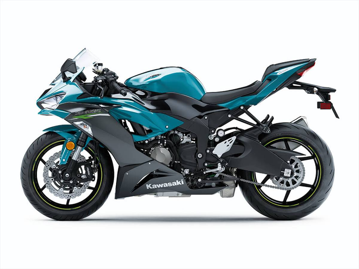 2021 Kawasaki Ninja ZX-6R ABS in Clearwater, Florida - Photo 4