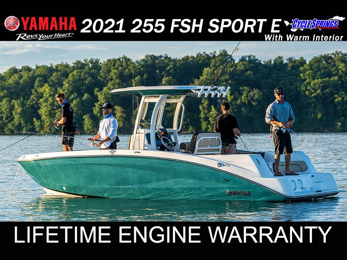 2021 Yamaha 255 FSH SPORT E in Clearwater, Florida - Photo 1