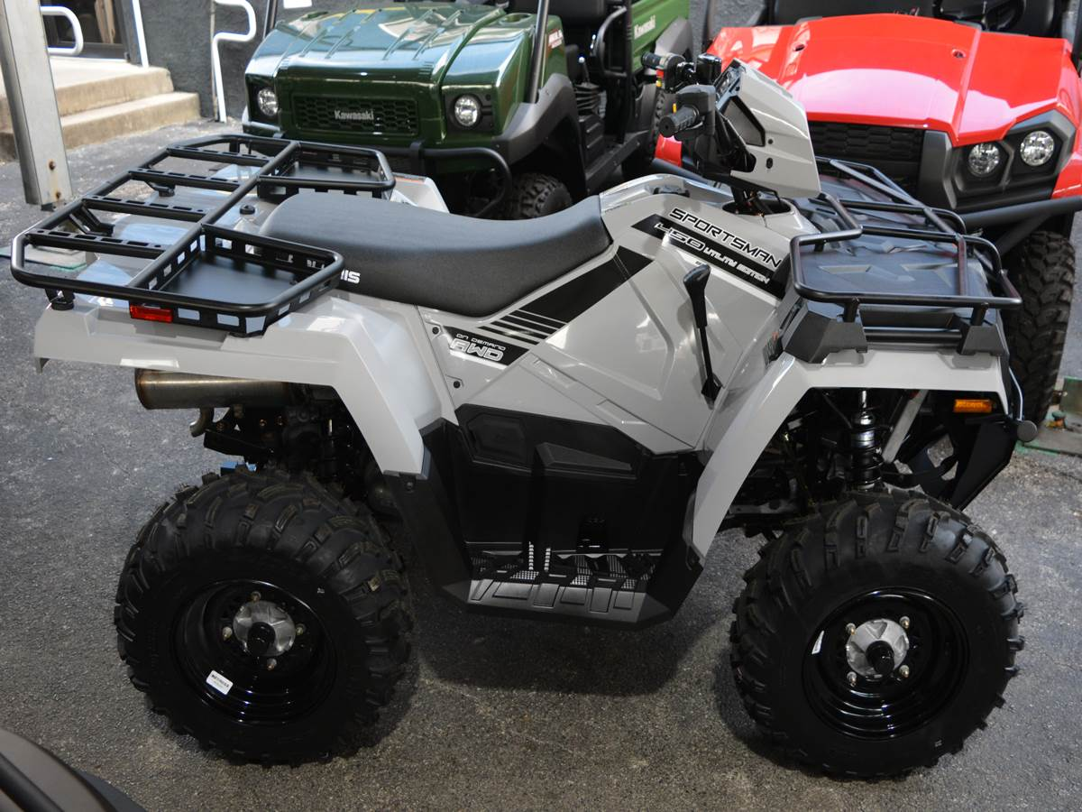 2019 Polaris Sportsman 450 H.O. Utility Edition in Clearwater, Florida - Photo 2
