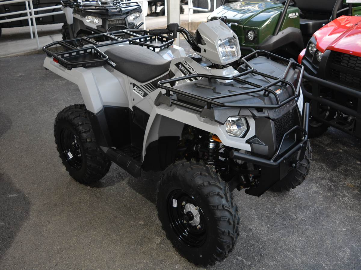 2019 Polaris Sportsman 450 H.O. Utility Edition in Clearwater, Florida - Photo 8