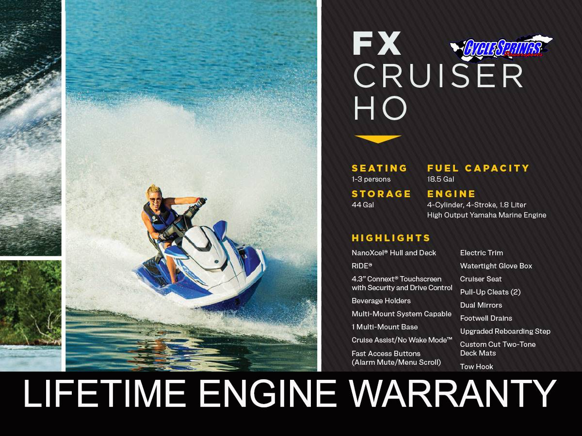 2021 Yamaha FX CRUISER HO in Clearwater, Florida - Photo 1