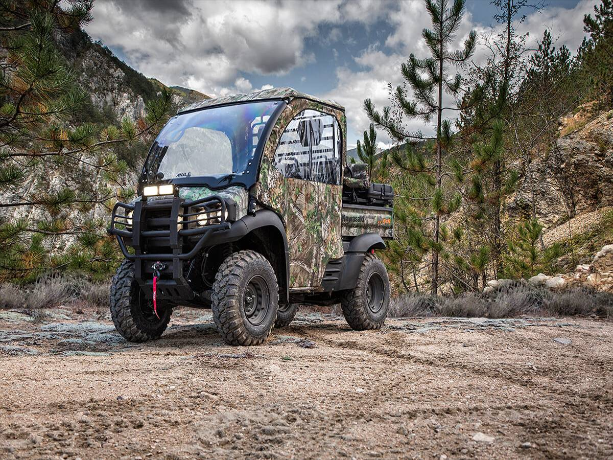 2021 Kawasaki Mule SX 4X4 XC Camo FI in Clearwater, Florida - Photo 5