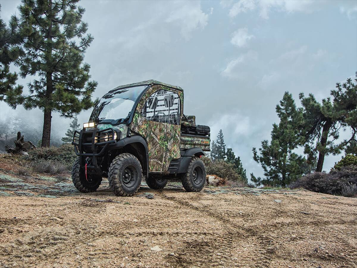 2021 Kawasaki Mule SX 4X4 XC Camo FI in Clearwater, Florida - Photo 9