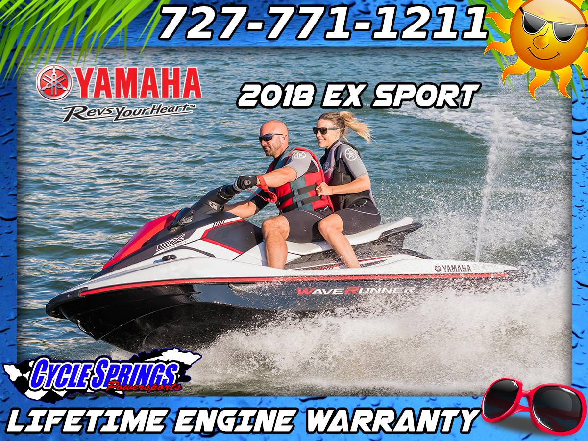 2018 Yamaha EX Sport in Clearwater, Florida - Photo 1