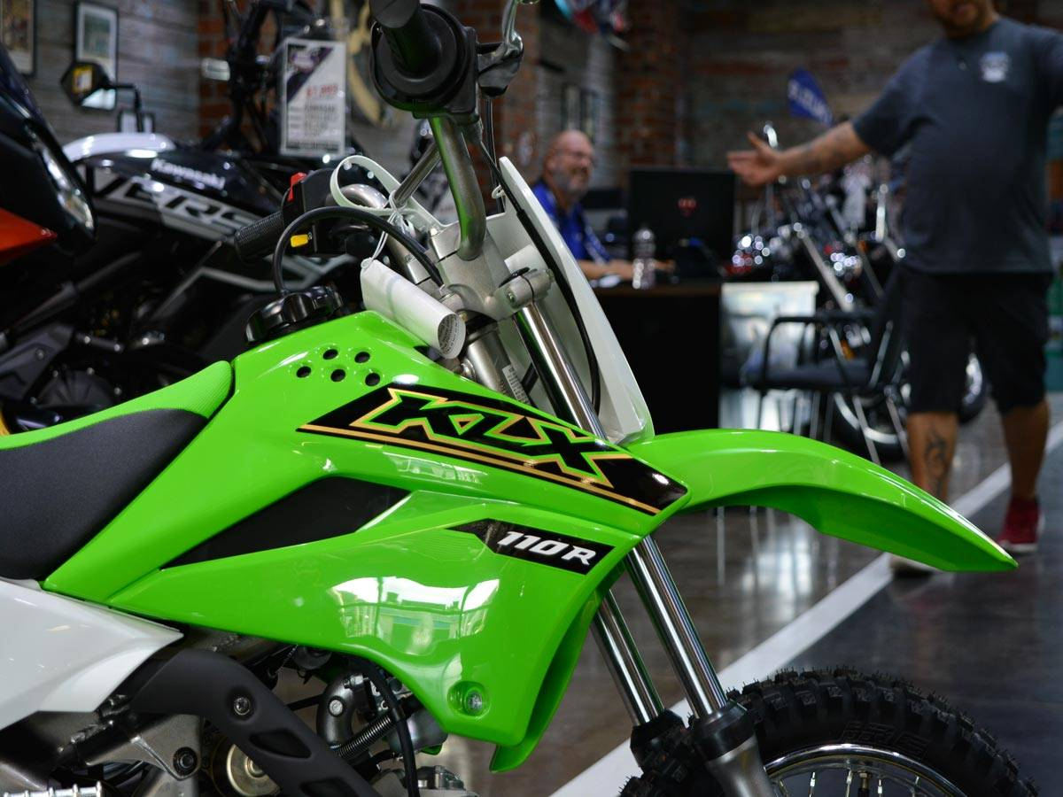 2021 Kawasaki KLX 110R in Clearwater, Florida - Photo 5