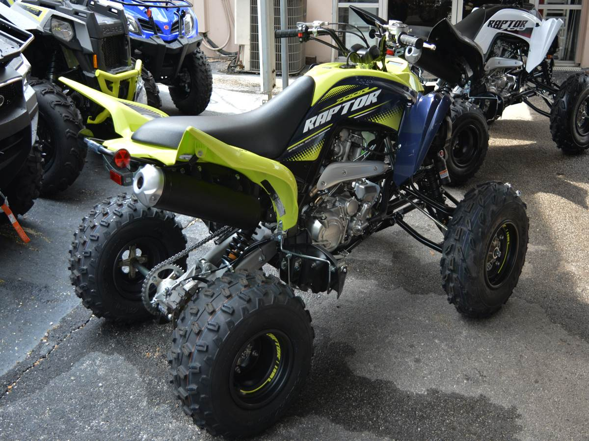 2020 Yamaha Raptor 700R SE in Clearwater, Florida - Photo 4
