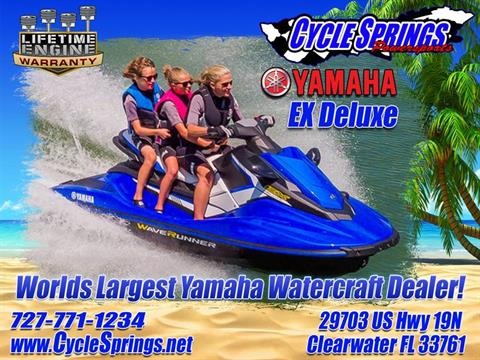 2017 Yamaha EX Deluxe in Clearwater, Florida