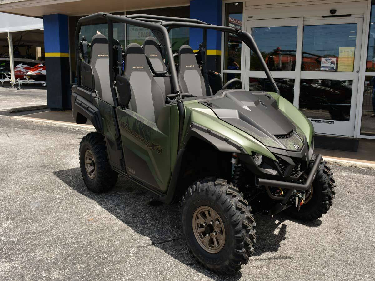 2021 Yamaha Wolverine X4 XT-R 850 in Clearwater, Florida - Photo 6