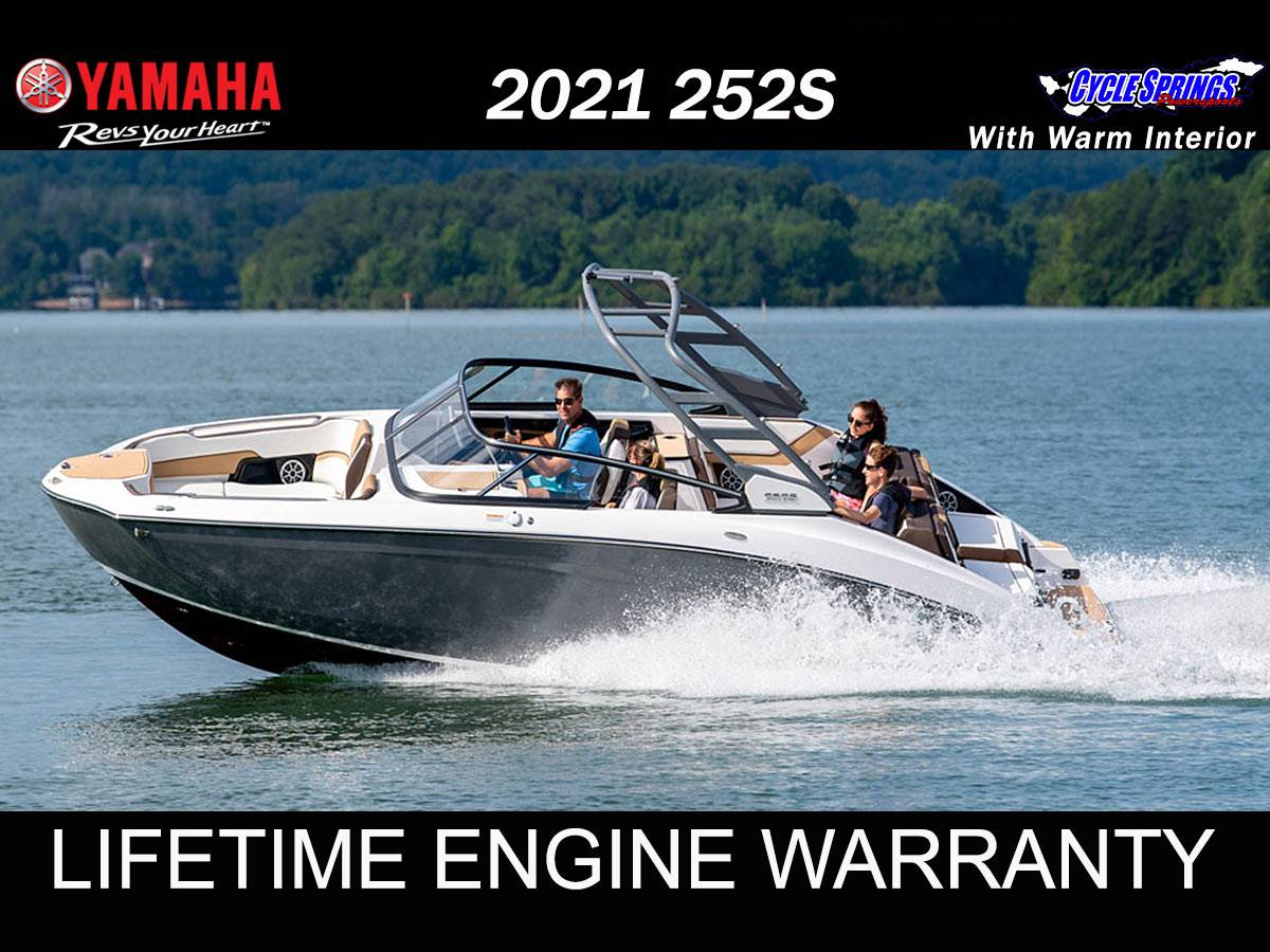 2021 Yamaha 252S in Clearwater, Florida - Photo 1