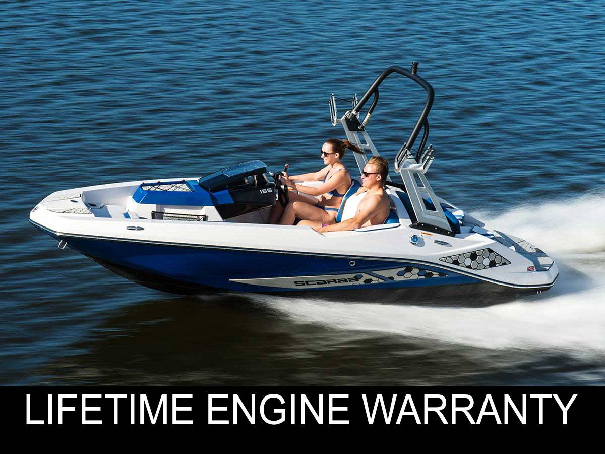 New 2020 Scarab 165 Id Power Boats Inboard In Clearwater Fl Stock Number 2020 Scarab 165 Id