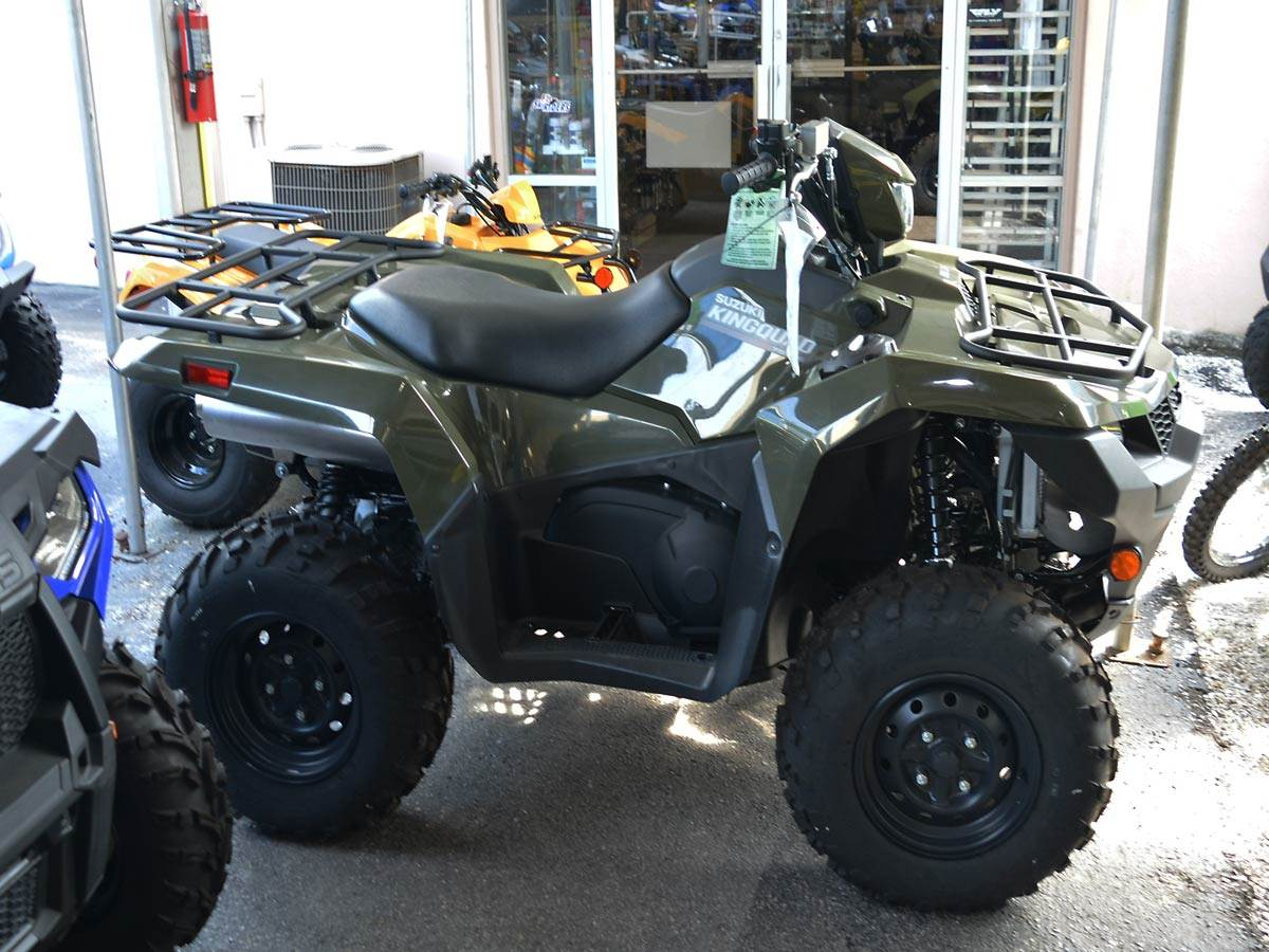2020 Suzuki KingQuad 750AXi Power Steering in Clearwater, Florida - Photo 1
