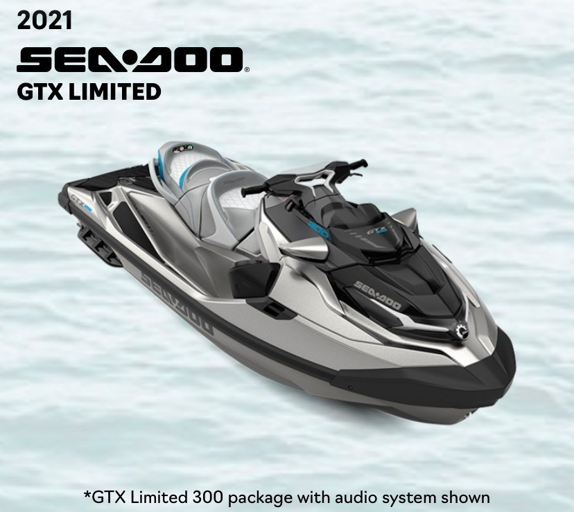 2021 Sea-Doo GTX LIMITED 300 in Clearwater, Florida - Photo 4