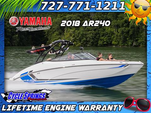 2018 Yamaha AR240 in Clearwater, Florida