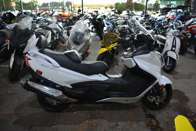 New 2018 Suzuki Burgman 650 Executive Scooters in Clearwater, FL ...